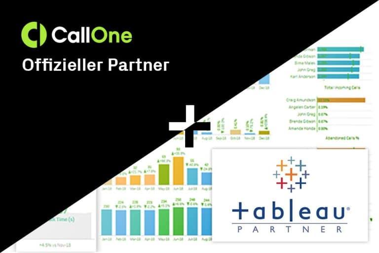 CallOne offizieller Tableau Partner